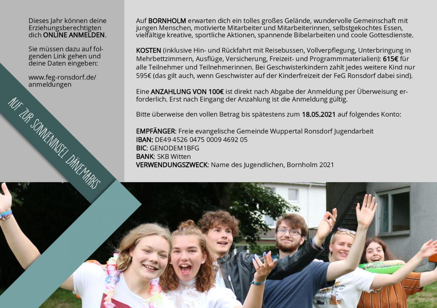 Jugendfreizeit - FeG Ronsdorf